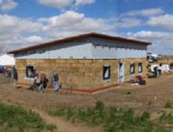 Kuće od slame - kuće sa nosećim zidovima od bala slame (video) - Gradjevinars...